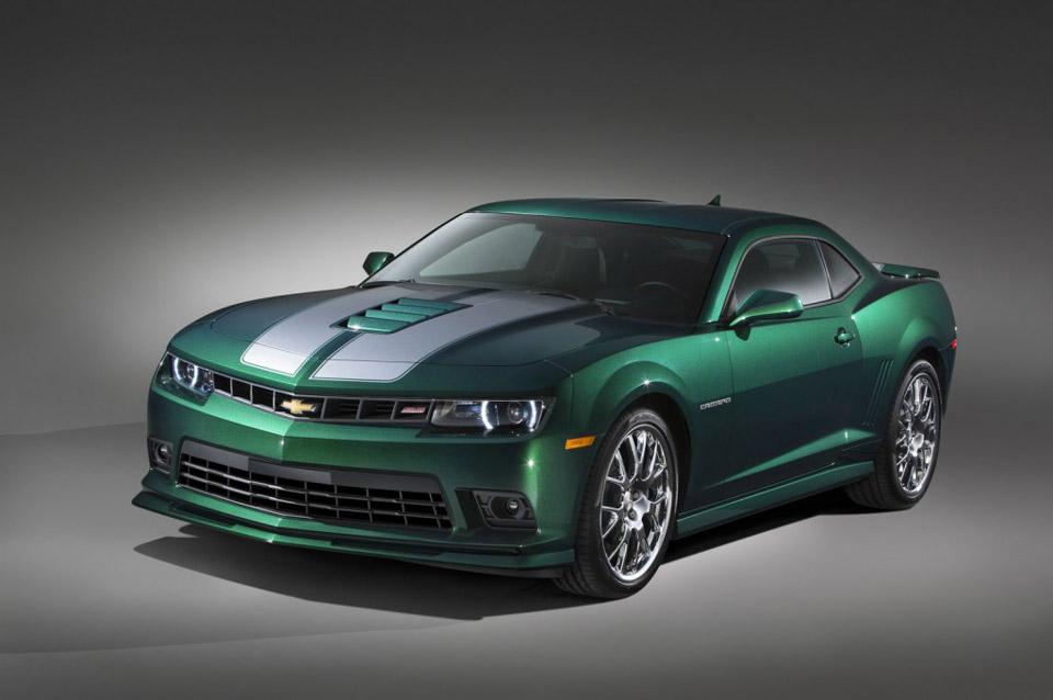 "Meet the Chevrolet Camaro ""Green Flash"" Edition"