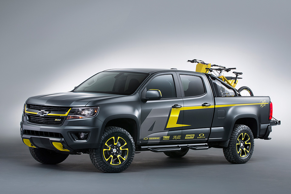 Chevrolet rolled into the SEMA 2014 show with three new pickup ...