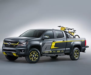 Chevrolet Shows Three Pickup Concepts at SEMA