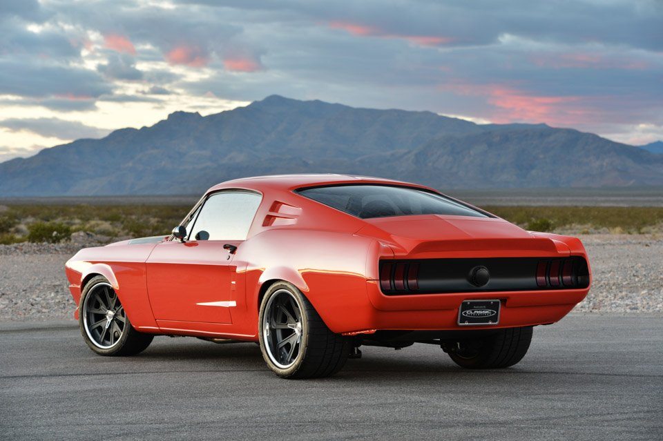 Cr Supercars Custom 1968 Mustang Villain 95 Octane