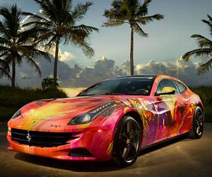 Ferrari FF Art Car by Duaiv