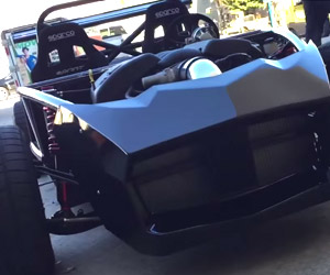Exocet XP5 Revs its Monstrous Engine