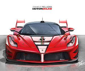 Track-Only Ferrari LaFerrari XX Rendered