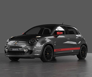 Fiat 600 Abarth 60th Anniversary Concept