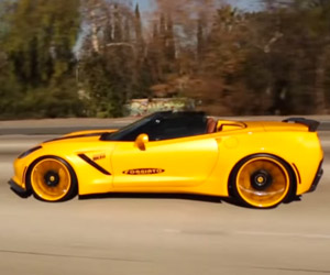 750HP Forgiato Widebody Corvette Flaunts its Looks