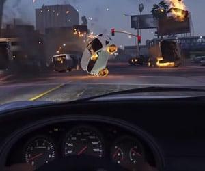 GTA V Traffic Jam Causes Epic Chaos