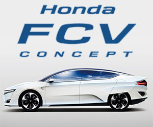 Honda Fuel Cell Vehicle Concept Unveiled