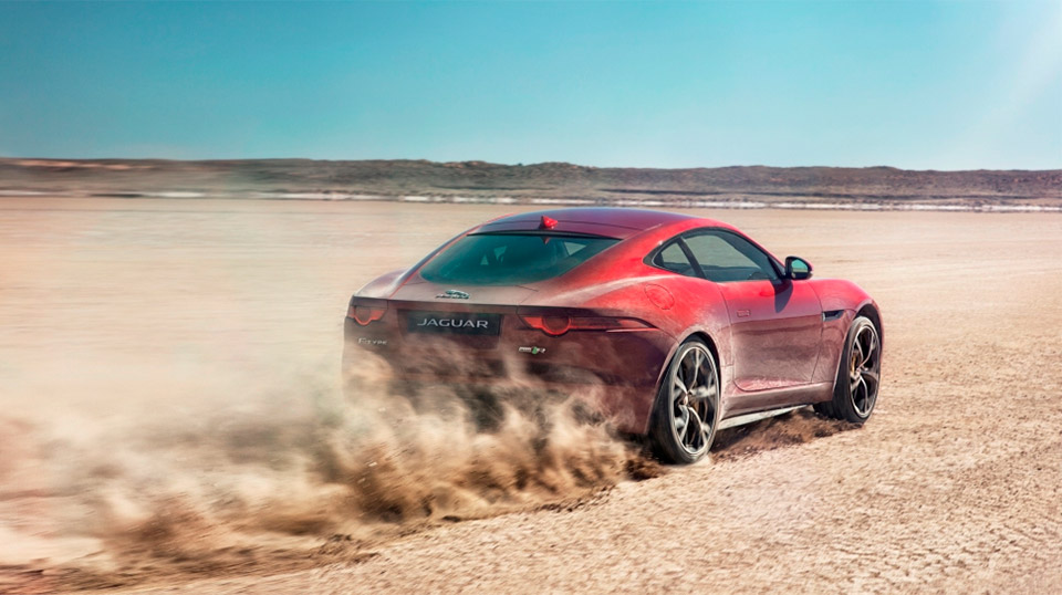 Jaguar Reveals AWD F-Type R Coupe