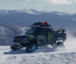 Ken Block's RaptorTRAX: Bonus Footage