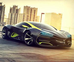 Designer Proposes Lada Supercar Concept