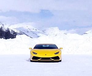 Lamborghini Winter Accademia 2015