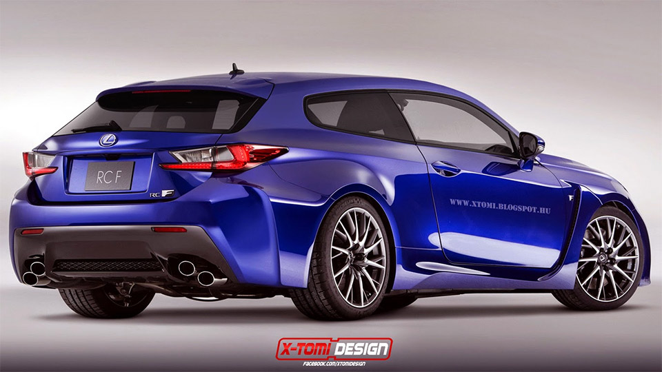 Lexus RC F Shooting Brake Design Concept