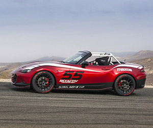 Mazda's New MX-5 Cup Racer + MX5 Cup Series