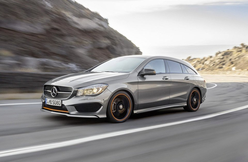 mercedes cla cla 45 amg shooting brake 95 octane. Black Bedroom Furniture Sets. Home Design Ideas