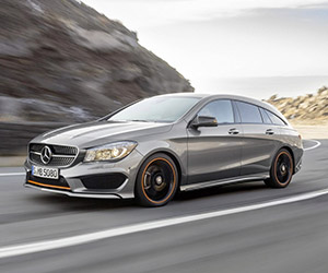 Mercedes CLA + CLA 45 AMG Shooting Brake