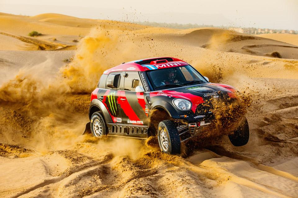 MINI Returns to Dakar with Eight MINI ALL4 Racers