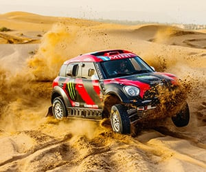 MINI Returns to Dakar with Eight MINI ALL4 Racers