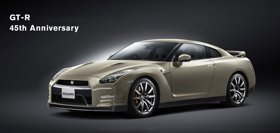 Nissan 45th Anniversary GT-R Hits Japan