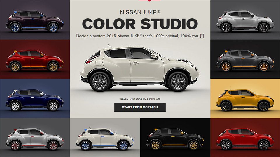 Nissan Juke Color Studio 100 Original 95 Octane