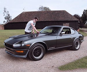A Father and Son and Their Datsun 240Zs