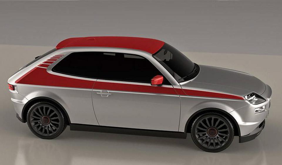 Retro Fiat 127 Design Prototype Shines 95 Octane