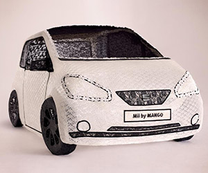 SEAT Constructs World's First Fabric Car