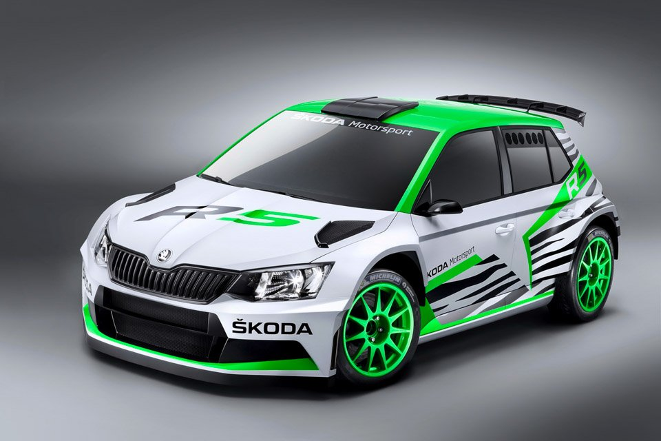 Skoda Shows off Fabia R5 Rally Car