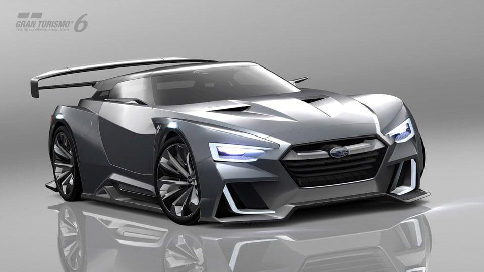 Subaru Unveils VIZIV GT Gran Turismo Concept