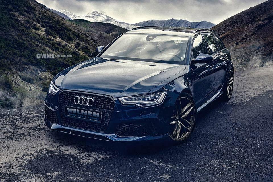 Vilner Reworks Audi RS6 Avant Interior + Power