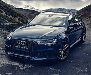Vilner Reworks Audi RS6 Avant Interior + Power