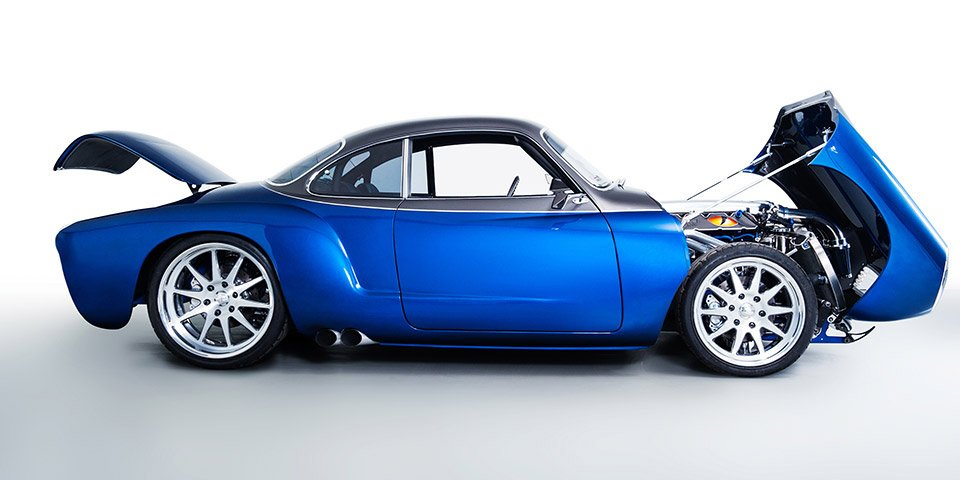 Vw Karmann Ghia Viper V on Volvo Trucks Engine Compartment Parts