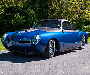 1967 VW Karmann Ghia Melds with Viper V10