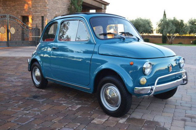 Beautiful 1971 Fiat 500L on eBay