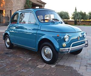 Beautiful 1971 Fiat 500L on eBay