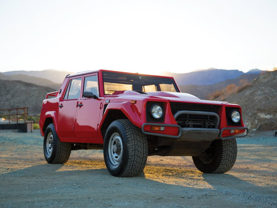 Off Road Trucks For Sale >> Rare 1989 Lamborghini LM002 SUV at Auction - 95 Octane
