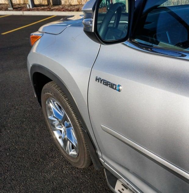 Hybrid Toyota Highlander