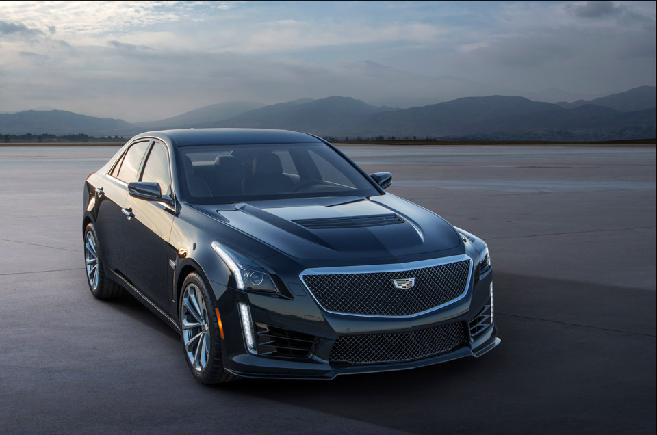 Cadillac Unveils the 640hp 2016 CTS-V