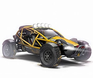 Ariel Shows Nomad Off-Road Vehicle