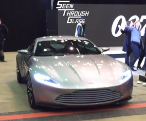 Aston Martin DB10 Revs Its Mighty Engine
