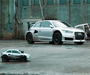 Audi Quattro R/C Car Challenge