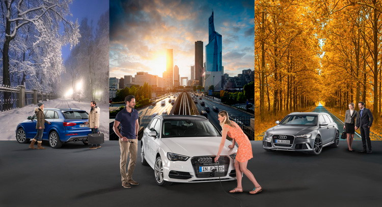 Audi Car Sharing Services in Stockholm & Berlin