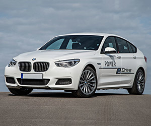 BMW's 670hp 5 Series GT Hybrid Concept