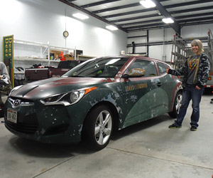 Boba Fett's Hyundai Veloster