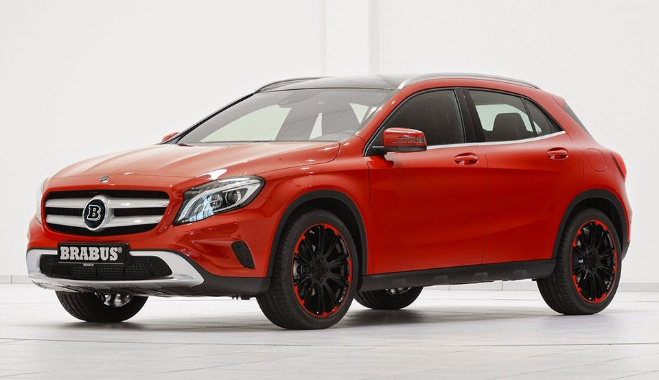 brabus mercedes benz gla 220 95 octane. Black Bedroom Furniture Sets. Home Design Ideas