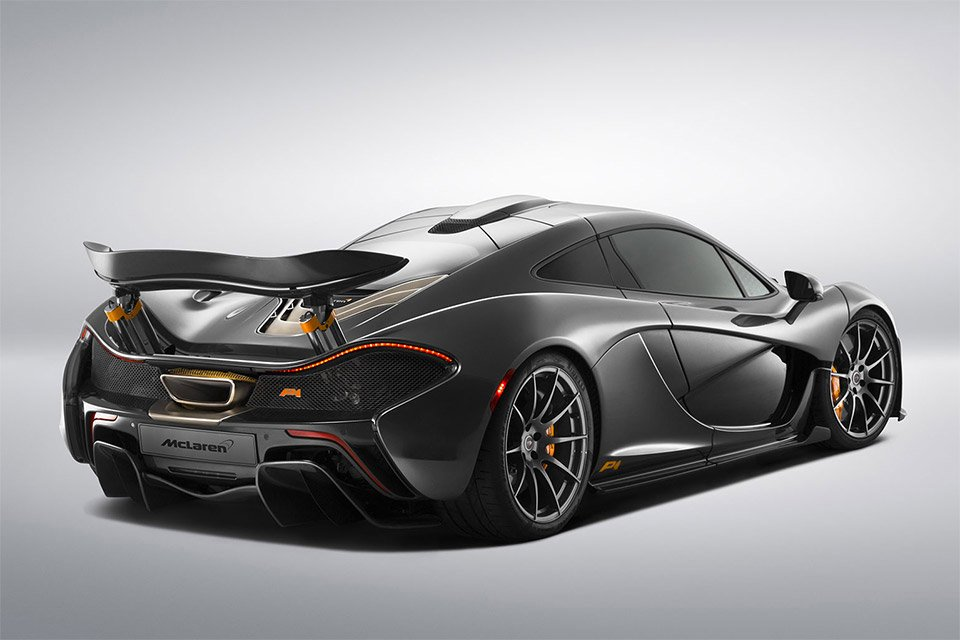 Very Limited All-Carbon Fiber McLaren P1