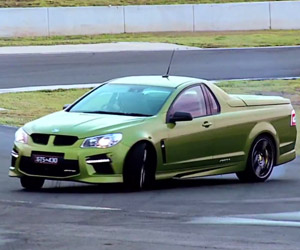 Chris Harris Goes Sideways in an Aussie Ute