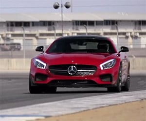 Chris Harris on the Tech of the Mercedes AMG GT