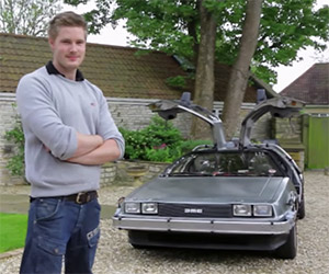 Back to the Future DeLorean Available for Hire
