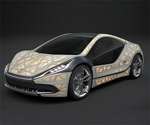 EDAG's Fabric-Wrapped Concept Heads to Geneva