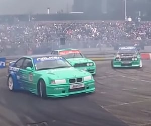 Falken Drift Team Struts Its Stuff